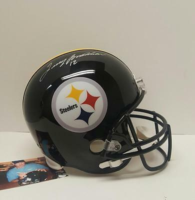 Terry Bradshaw Autographed Signed Pittsburgh Steelers Full Size Helmet Holo