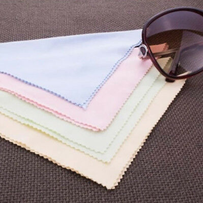 10PCS Microfiber Phone Screen Camera Lens Glasses Cleaner Cleaning Cloth