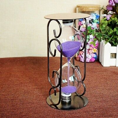 Exquisite Creative Products Round Iron Hourglass XY11715