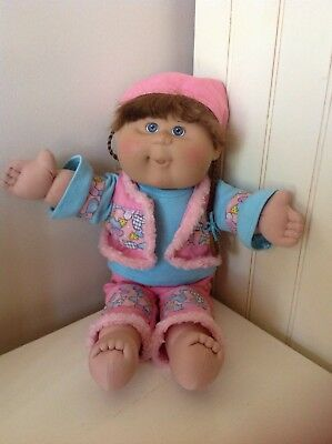 Cabbage Patch - Play Along Girl, Blonde Hair, Blue-grey Eyes, Original Outfit