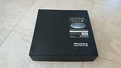 OYAIDE MJ-12 TURNTABLE MAT Audiophile BRAND NEW IN BOX MJ12