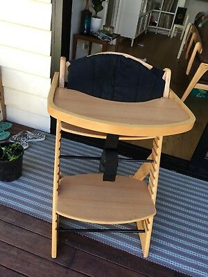Mocka Wooden Baby Kids High Chair