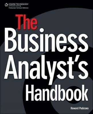 NEW The Business Analyst's Handbook by Howard Podeswa BOOK (Paperback) Free P&H