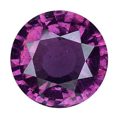 1.085 Cts GORGEOUS AMAZING PURPLE PINK NATURAL SAPPHIRE ROUND GEMS  SEE VIDEO