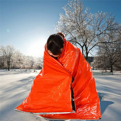Emergency First Aid Survival Outdoor Foil Thermal Tents Sleeping Bag Camping