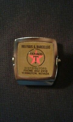Vintage Texaco Gas & Oil Advertising Magnetic Clip