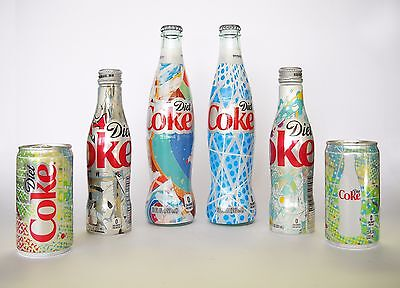 """Diet Coke Limited Edition """"one Of A Kind"""" Your Mine 12O Bottles, Cans"""
