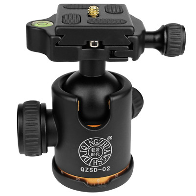 Hokyzam Q02 Aluminium Duty Photography Camera Tripod Ball Head with Quick Releas