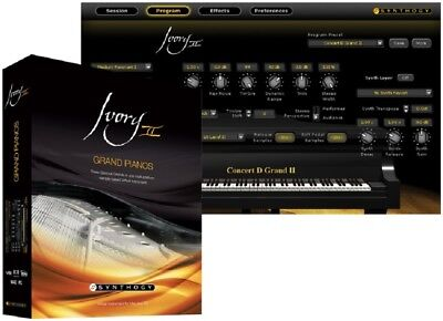 Ivory Grand Pianos II piano samples for KONTAKT