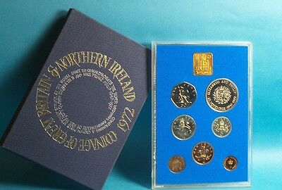 1972 United Kingdom Official Proof Coin Collection