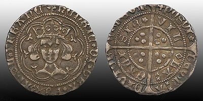 King Henry VI of England Silver Groat Calais mint 1427-30, Spink 1859 North 1446