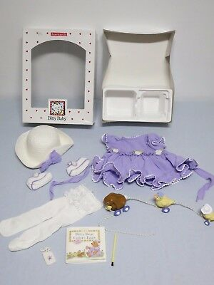 Bitty Baby Springtime Set for Doll NIB and Girl's dress size 4 and hat 2001