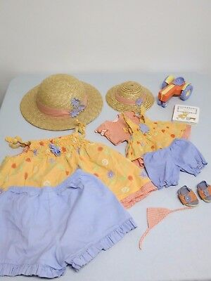 Bitty Baby Country Day doll Girl's outfit size M 2004