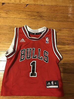 Chicago Bulls Toddler jersey 3t