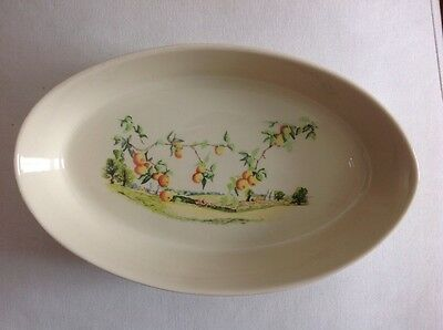 Wade England Porcelain Cookware Oven Dish 'country Harvest'
