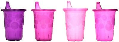 The First Years Take Toss Spill-Proof 4-Pack Sippy Cups - 10 Ounce Pink