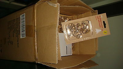 trade box of 48 x 12 Piece  Clear Dual Suction Cup Hooks