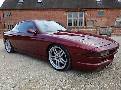 Bmw 850 Ci Auto 1993 Covered 82K Mls From New - Rare Only 24 Autos Left In Uk