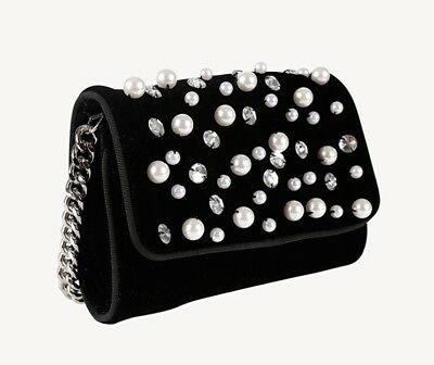 Miss Grant Couture - Girls Gorgeous Beaded Shoulder Bag - Fall/Winter17 Sample