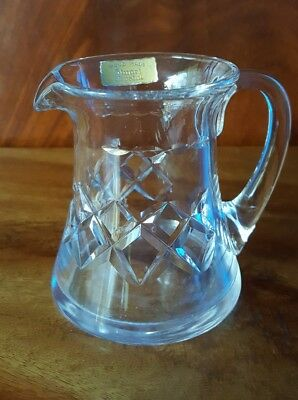 Stuart Vintage Crystal Milk Jug / Pitcher