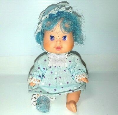 Strawberry Shortcake baby doll Berry Blueberry Muffin Vintage 1980s Small