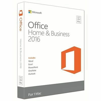 Microsoft Office 2016 for Mac - Home and Business (3 Users 3 Macs)