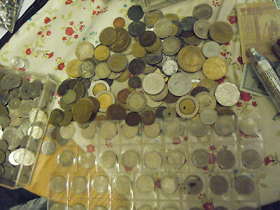 2 KG COINS AND MEDALS/AND 400GRAMS 10ÖRE SILVERCOINS sweden BARGIN