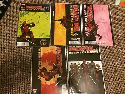 Deadpool And The Mercs For Money (Vol. 1) 1 2 3 4 5  Marvel