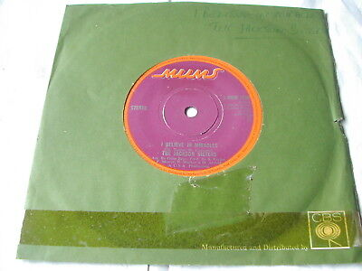 """The Jackson Sisters - I Believe In Miracles Mums  Original Rare Soul Classic 7"""""""