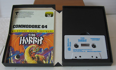 """Commodore 64 Game """"the Hobbit""""......... Very Rare Version Boxed"""
