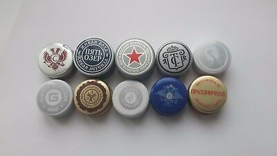 10 vodka caps Russia