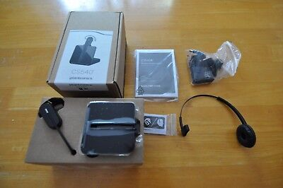 Plantronics CS540 Wireless Headset NEW