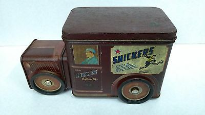 Vintage Antique Rare Old Collectible tin box in bus shape