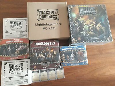 Massive Darkness Lightbringer Pledge & Doors and Bridges & Replacement Card