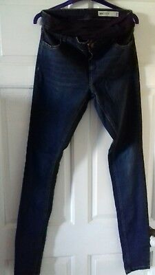 Asos Maternity Size 10 over bump Jeans