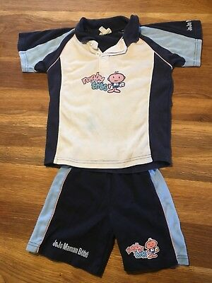 Rugby Tots 4-5 Shirt And Shorts