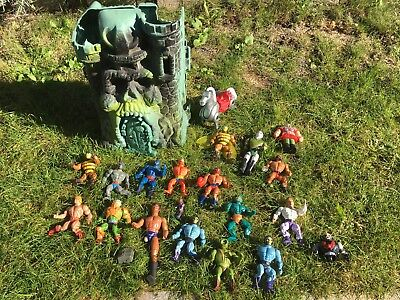 Konvolut Masters Of The Universe, Castle Of Grey Scull, He-Man,Skeletor Und Mehr