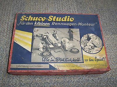 Schuco Studio Rennwagen Mercedes Clockwork Racing Car