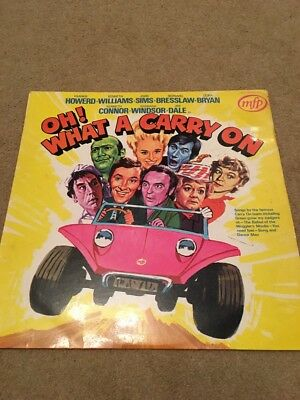 Oh! What A Carry On -  Ex./ex+ Vinyl Lp - Mono First Pressing - Printed Inner