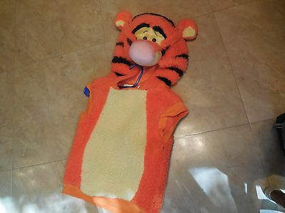 Disney's Tigger Pull Over Halloween Costume Top- 2T