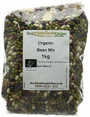 Buy Whole Foods Organic Bean Mix 1 Kg