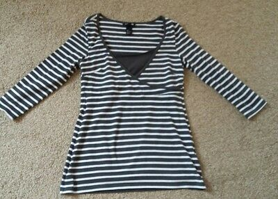 H&M Mama Nursing Breastfeeding top Small