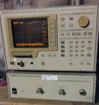 Anritsu MS2601A Spectrum analyser 9KHz-2.2GHz with MS6801A tracking gen