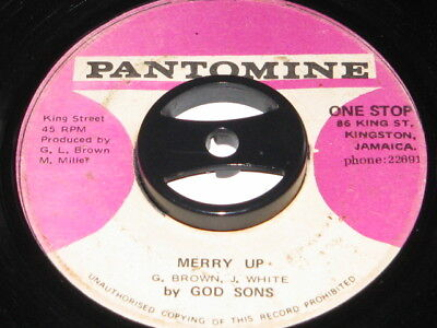 7 inch MERRY UP - GOD SONS!!!!!!!!!!