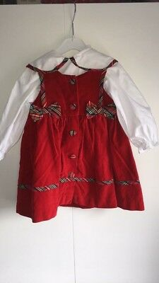 Baby Girl Vintage Dress 18 Months