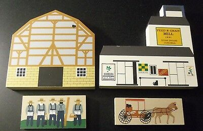 The Cat's Meow - Amish Barn - Feed and Grain - Carpenters - Horse and Carraige