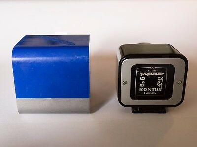 Voigtlander Kontur 6X6 Viewfinder With Box And Instructions.