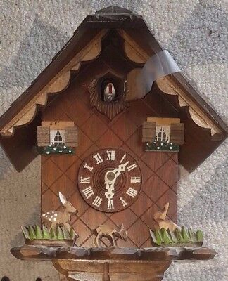 Authentic Black Forest German Coo Coo Clock from Germany