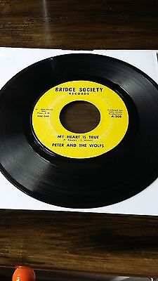 Northern Soul-Peter & The Wolfs-My Heart Is True-Bridge Society