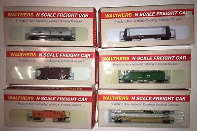 Set of 6 - Walthers - N scale